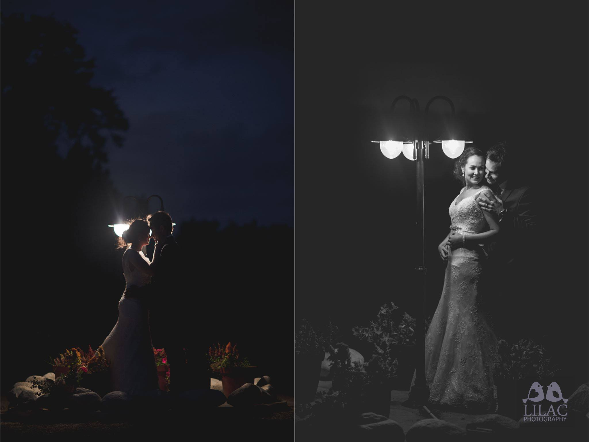 Bride & Groom Night Photography