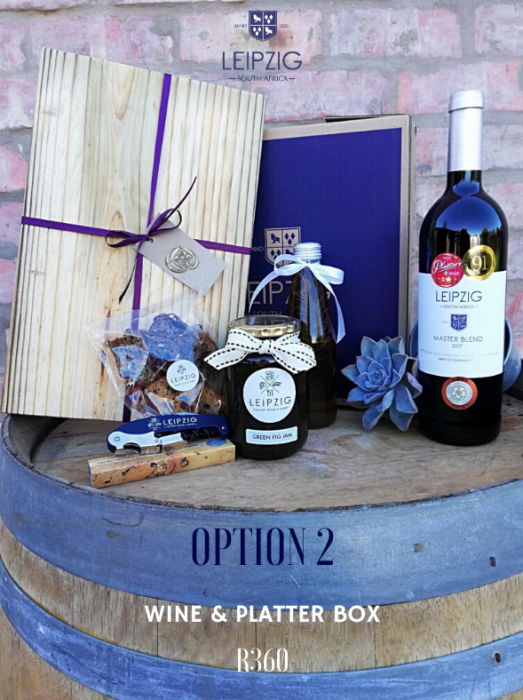 Wine & Platter Box – Leipzig Winter Boxes